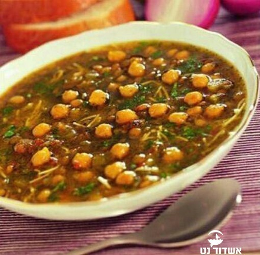 Суп хрира по-мароккански из Израиля