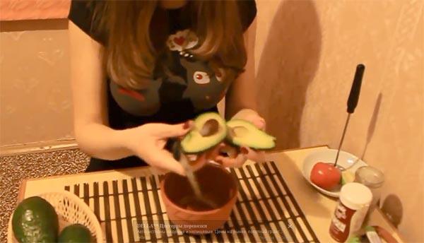 Ррецепт гуакамоле