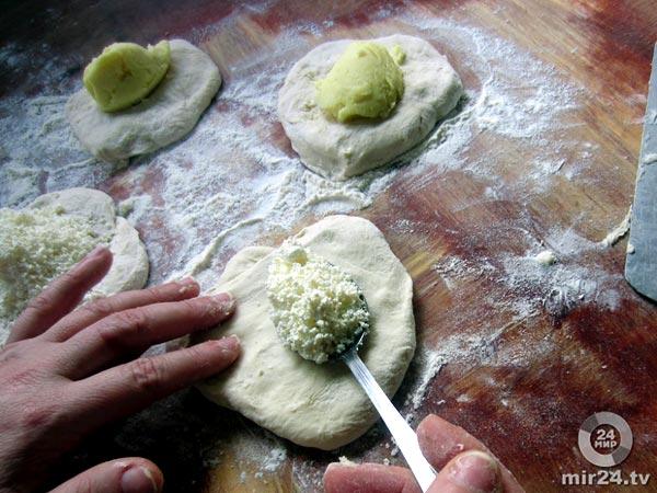 Ингушский чапильгаш - лепешки с начинкой