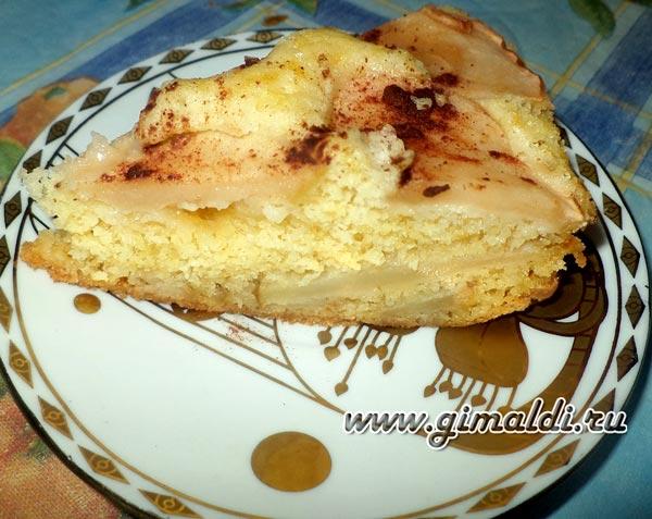 Как сделать яблочный пирог в мультиварке