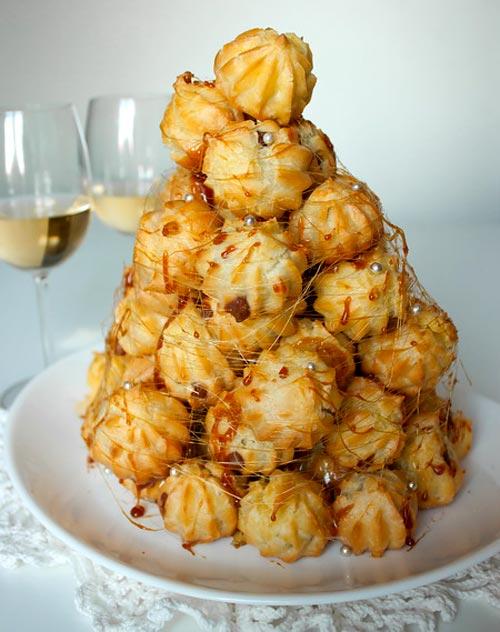 Крокембуш рецепт - традиционный французский десерт