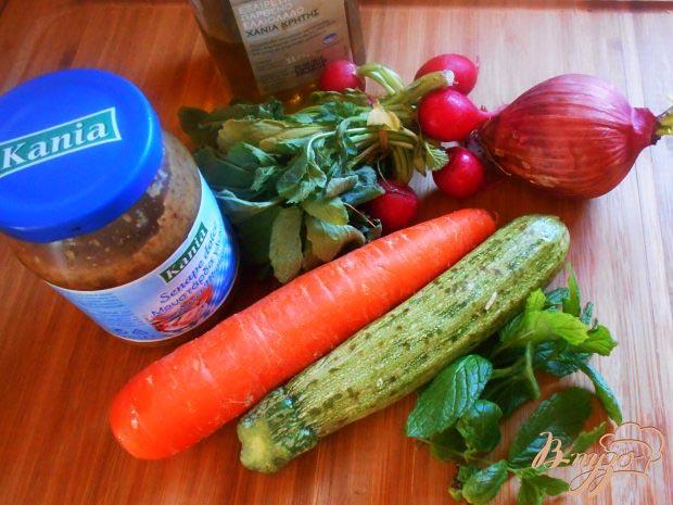 Индийские рецепты - овощной салат - Индийский овощной салат