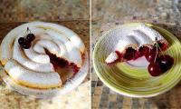 Пирог с тыквой и орехами, Хитрый пирог с вишне, видеорецепт Пирога с вишней от Елены Чекаловой