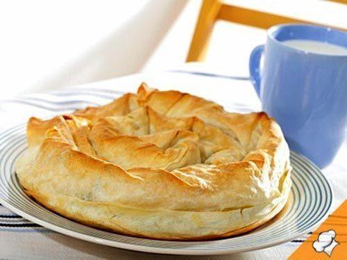 Пирог с тыквой и орехами