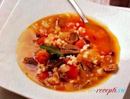 суп из куриных потрохов рецепт