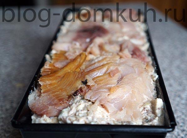 Террин из рыбного ассорти по-сибирски