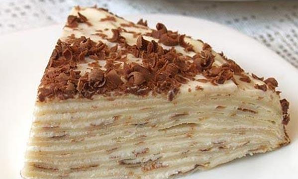 Блинный торт для диеты доктора Дюкан