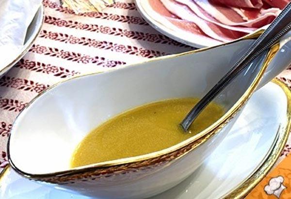 Французский соус с горчицей