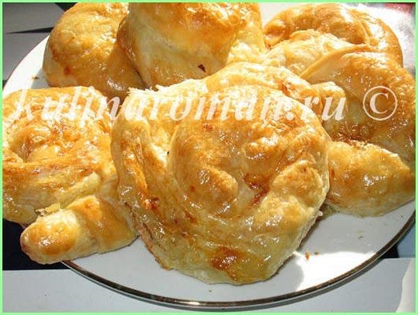 Постное вытяжное тесто для плацинд, вертут (молдавский рецепт)