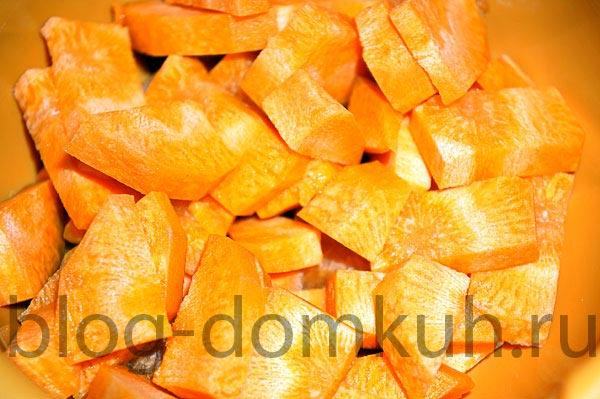 Оссобуко: тушеная телячья нога с овощами