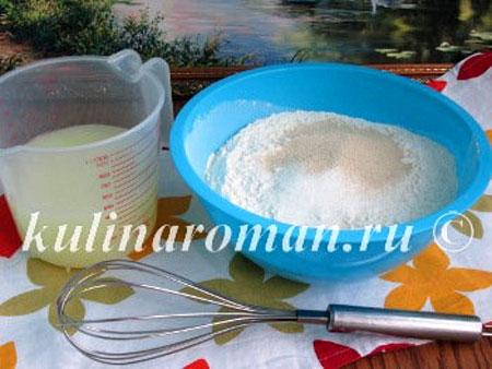 Мини-багеты к чаю (рецепт на сыворотке)