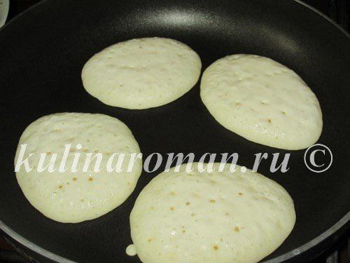 Панкейки на молочной сыворотке (рецепт без яиц)