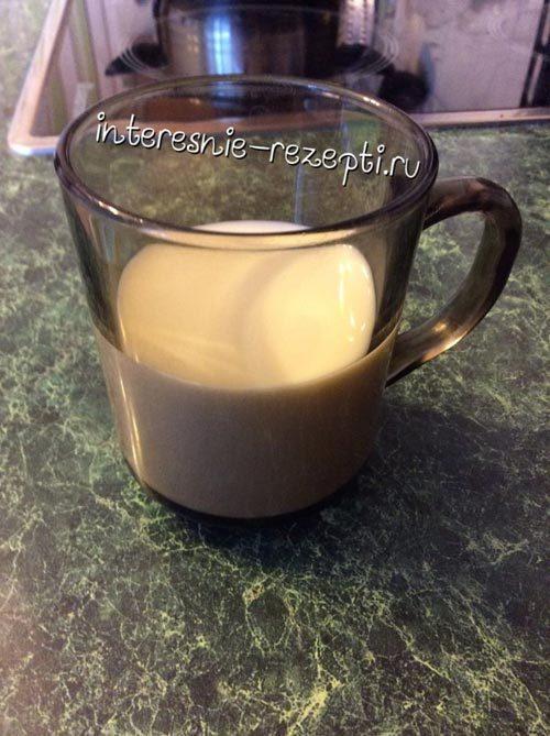 Булочки в молочном соусе