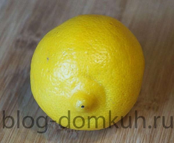 Лакедра, запеченная с лимоном и розмарином