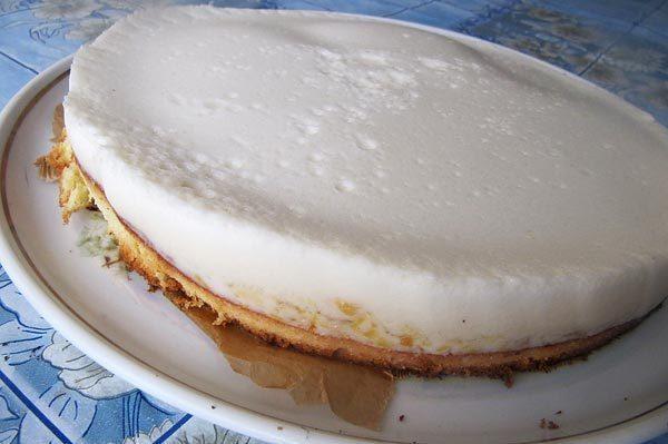 видео суфле йогуртовый торт