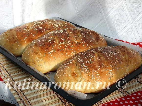 Рецепт домашнего хлеба на кефире в духовке