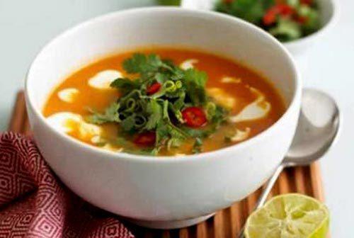 Суп из курицы и цветной капусты