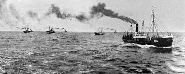 Салат шпротный с чесноком - Лов шпрот в Баренцевом море 1911 год