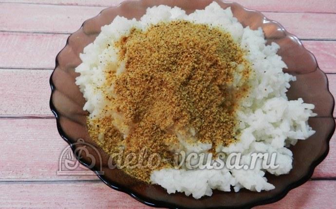 Рисовые шарики с тунцом и сливочным сыром – кулинарный рецепт