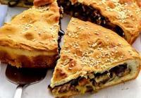 Рецепт вкусного пирога с мясом и баклажанами