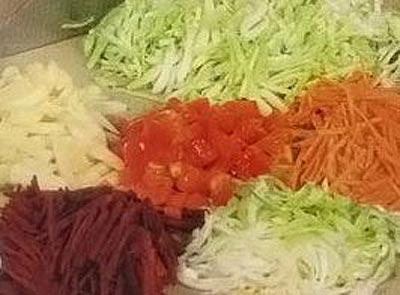 Рагу овощное с грибами на зиму