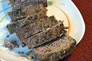 Имбирный митлоф (мясная буханка, мясной хлеб)