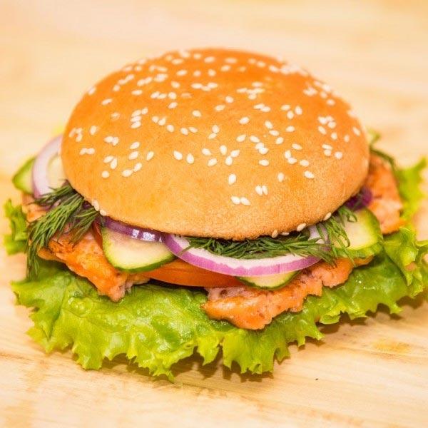 Готовый фишбургер