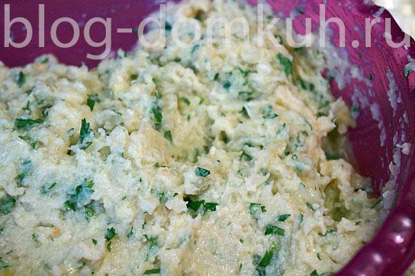 Котлеты из капусты с сыром моцарелла