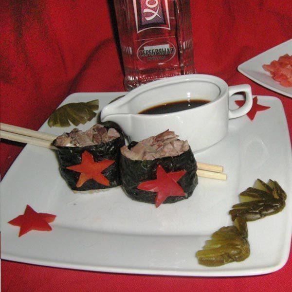 Армейские 'суши'