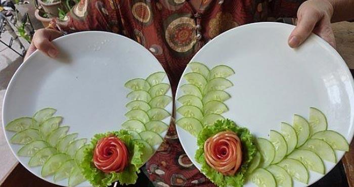 Пошаговое украшение блюд своими руками