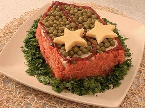 салат полковник рецепт с фото полный